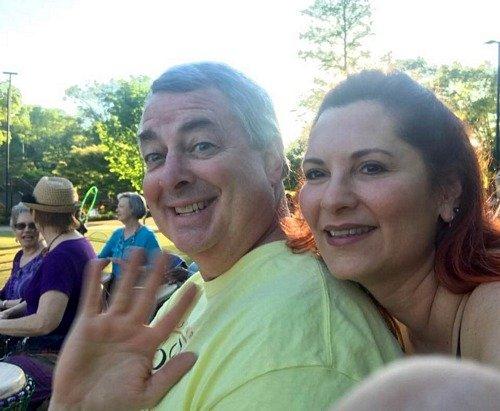 People having fun at the Raleigh Hoop Jam