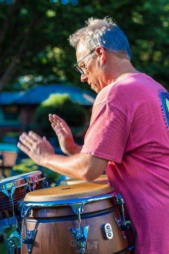 conga drummer